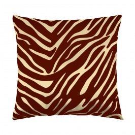 Bellatex Leona kispárna zebra vanília, 45 x 45 cm