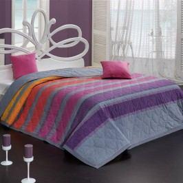 Bedtex Elle ágytakaró lila, 220 x 240 cm, 2x 40 x 40 cm