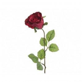 Mű rózsa piros, 45 cm