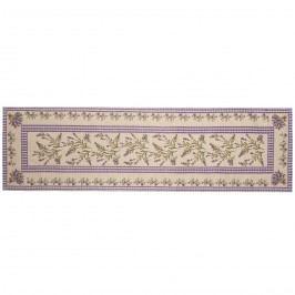 Levendula1 hosszú asztalterítő, 33 x  120 cm