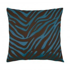 Bellatex Leona kispárna zebra kék, 45 x 45 cm