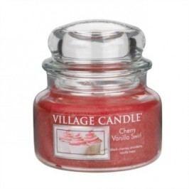 Village Candle illatos gyertya üvegedényben Meggy és vanília - Cherry Vanilla Swirl, 269 g