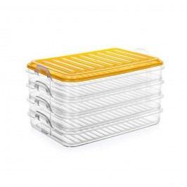 Banquet EASY CLICK műanyag ételtároló készlet, 4 részes
