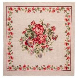 BO-MA Trading Virágcsokor terítő, 70 x 70 cm