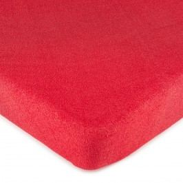 4Home frottír lepedő piros, 160 x 200 cm, 160 x 200 cm