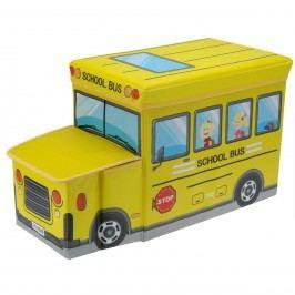 Gyerek puff és tároló Iskolabusz