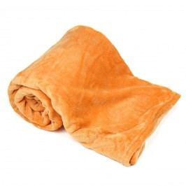 4Home Pléd Soft Dreams narancssárga,150 x 200 cm