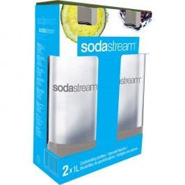 SodaStream 2x palack, szürke