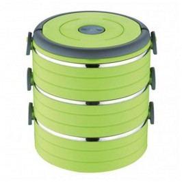 Renberg 3 szintes ételhordó zöld