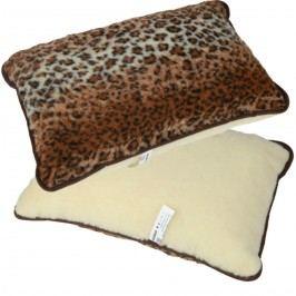 Modom Merino leopárd mintás párna, 40 x 60 cm,