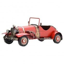 Cabrio dekorációs autó modell, piros