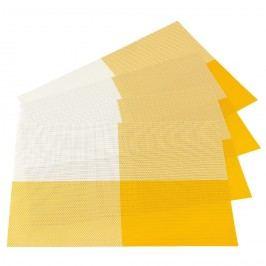 Jahu DeLuxe alátétek sárga, 30 x 45 cm, 4 db-os szett