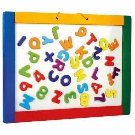 Bino Felakasztható mágneses tábla betűkkel,