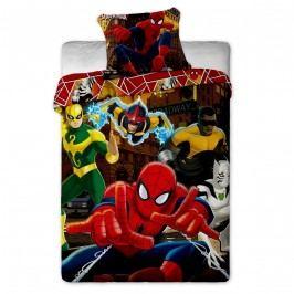 Jerry Fabrics Spiderman Hero gyerek ágyneműhuzat, 140 x 200 cm, 70 x 90 cm