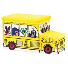 Bino Kisvakond és busz tárolódoboz játékokra,