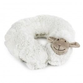 BO-MA Trading Bárányka utazópárna fehér, 30 cm