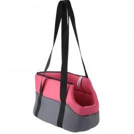 Utazó kutyatáska rózsaszín, 45 cm