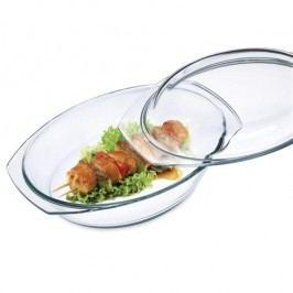 Simax ovális sütőtál fedővel 4,4 l (3,00/1,40) SIMAX 1871367146, 4HOME