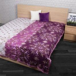 Alberica ágytakaró, lila, 240 x 200 cm, 240 x 200 cm