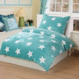 Jahu Stars mint mikroplüss ágyneműhuzat, 140 x 200 cm, 70 x 90 cm