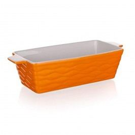 Banquet Culinaria Orange téglalap alakú sütőforma, 29,5 x 12,5 cm