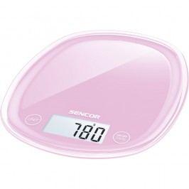 Sencor SKS 38RS konyhai mérleg, rózsaszín
