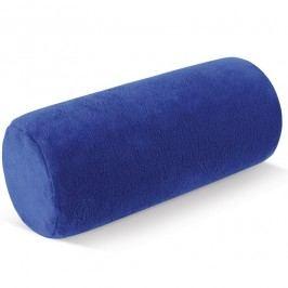 Bellatex Henger alakú nyakpárna micro kék, 15 x 35 cm