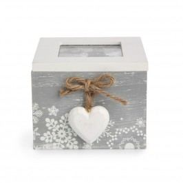 Love Winter dekoratív doboz 10 x 11 cm