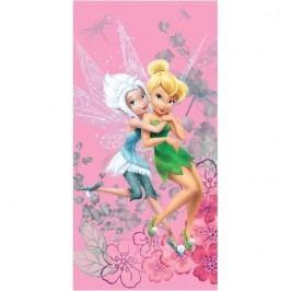 Jerry Fabrics Csingiling Fairies winter fürdőlepedő, 70 x 140 cm, 70 x 140 cm