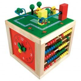 Bino Autók készségfejlesztő kocka Kreatív játékok