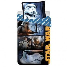 Jerry Fabrics Pamut ágynemű garnitúra, Star Wars Stormtroopers, 140 x 200 cm, 70 x 90 cm