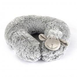 BO-MA Trading Bárányka utazópárna szürke, 30 cm