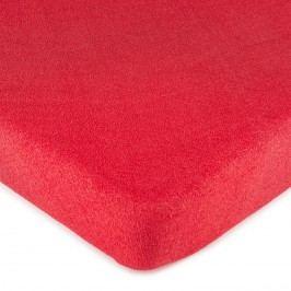 4Home frottír lepedő piros , 180 x 200 cm, 180 x 200 cm
