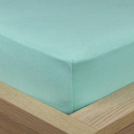 4Home Jersey lepedő elasztánnal zöld, 180 x 200 cm