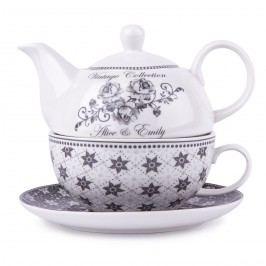 Emily teáskanna csészével