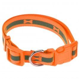 Neon narancssárga kutyanyakörv, M méret, M