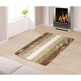Bellatex Levelek padlószőnyeg bézs színű