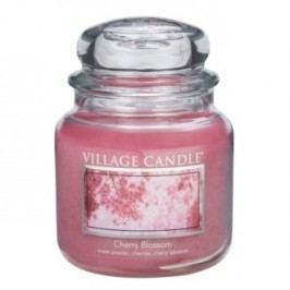 Village Candle illatos gyertya üvegedényben Cseresznyevirág - Cherry Blossom, 397 g, 397 g