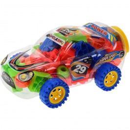 Gyerek építőkockák Rallye, 75 db