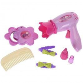 Szépítkezős készlet gyerekeknek, rózsaszín