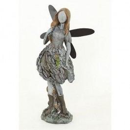Kerti dekoráció, Angyal, 35 cm