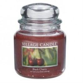 Village Candle illatgyertya üvegedényben Meggy - Black Cherry, 397 g, 397 g