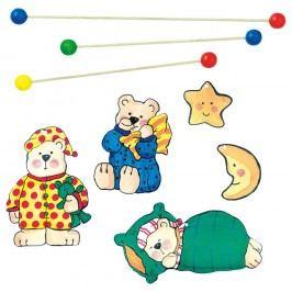 Bino Alvó macik Forgó játék