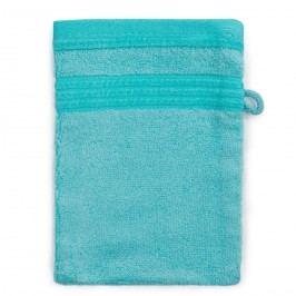 Jahu Bambusz mosdókendő kék, 14 x 22 cm