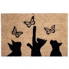 BO-MA Cicák és pillangók kókusz lábtörlő, 40 x 60 cm