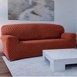 Forbyt Contra multielasztikus kanapéhuzat teracotta, 220 - 260 cm, 220 - 260 cm