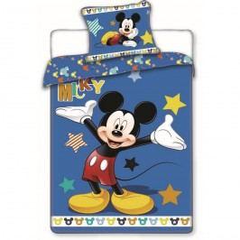Jerry Fabrics Mickey stars pamut ágyneműhuzat, 140 x 200 cm, 70 x 90 cm