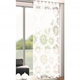 André virágok árnyékoló függöny fehér, 135 x 246 cm