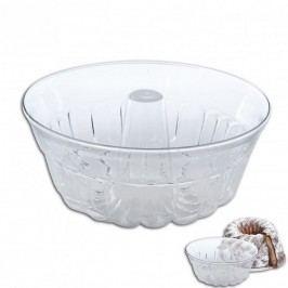 Üveg kuglóf sütőforma 25 cm
