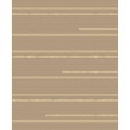 Habitat Monaco darabszőnyeg, csíkos 7510/3237 barna, 60 x 110 cm